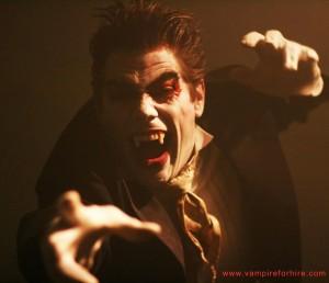 Vampire For Hire Halloween 2012